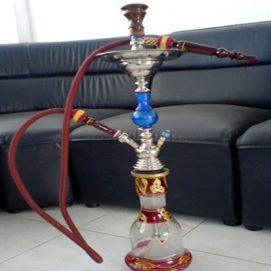 Shisha-smoking
